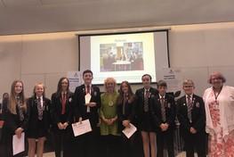 Student Council receive PADL Award