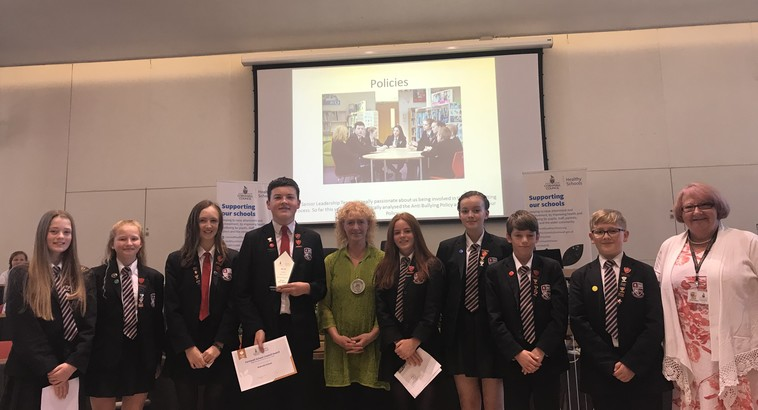 Student Council receive PADL Award