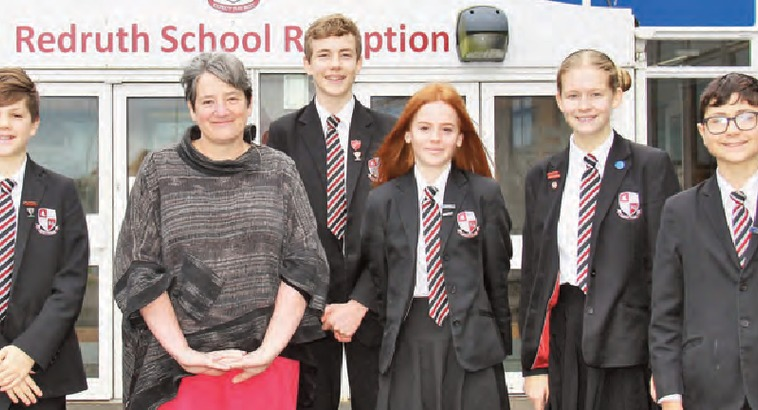 Redruth Students Help to Recruit New Director