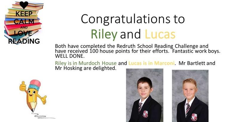 Reading Challenge Success