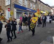 St Piarns parade