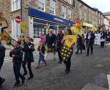 St Piarns parade