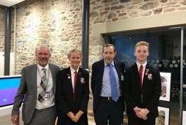 Redruth School Celebrates Kresen Kernow Opening