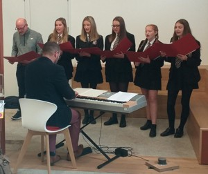 Mr Martin singing