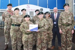 School Cadet Force Officially Opened