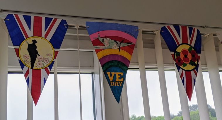Redruth School Commemorates VE Day