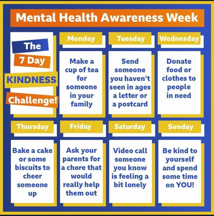 Mental Health Week Kindness