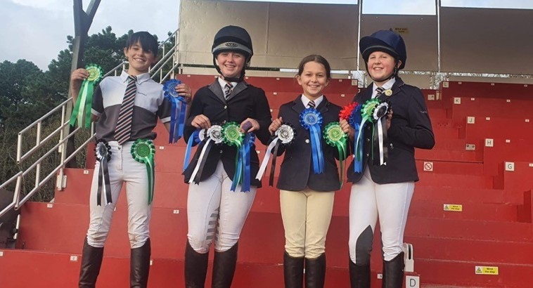 Redruth Showjumpers Jump For Joy