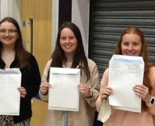 Holly Apsey, Kenza Clarke and Eleanor Dennis